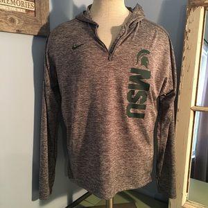 MSU Nike Dri-fit pullover